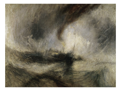 Snow Storm: Steam-Boat Off a Harbour's Mouth Giclee Print by J. M. W. Turner