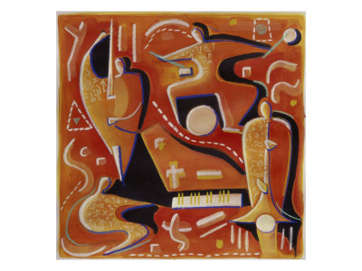 Paul Klee at Birdland Giclee Print by Gil Mayers
