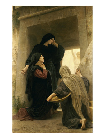 The Three Marys at the Tomb Giclée-tryk af William Adolphe Bouguereau