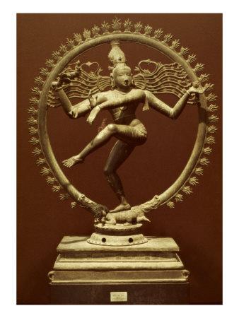 Shiva As Nataraja Giclee Print