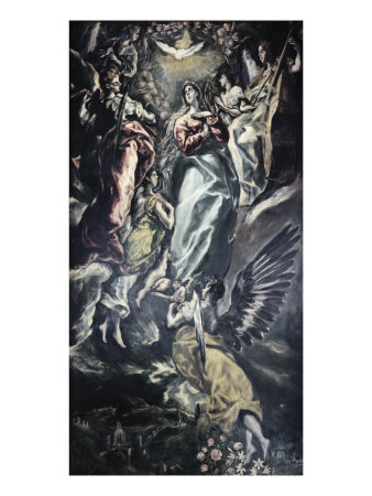 The Immaculate Conception Giclee Print by  El Greco