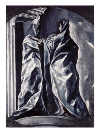 The Visitation Giclee Print by  El Greco