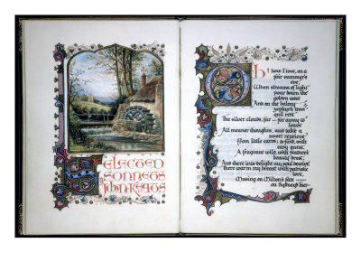funny sonnets. Calligraphic Sonnets-Title