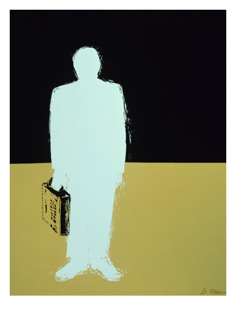 Business Man Giclee Print by Diana Ong