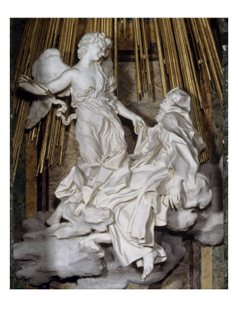 Ecstasy of St. Theresa Giclee Print by Giovanni Lorenzo Bernini at ...