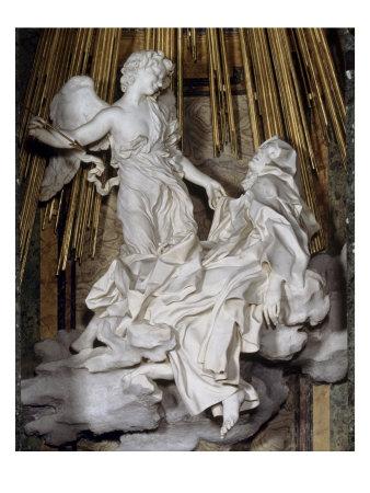 Ecstasy of St. Theresa Giclee Print by Giovanni Lorenzo Bernini at ...