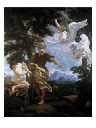 The Sacrifice of Isaac Giclee Print by Giovanni  B. Gaulli