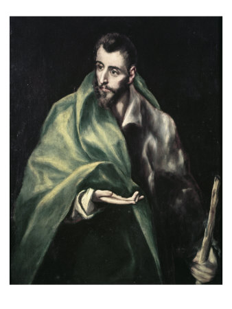 Apostle St. James the Greater Giclee Print by  El Greco