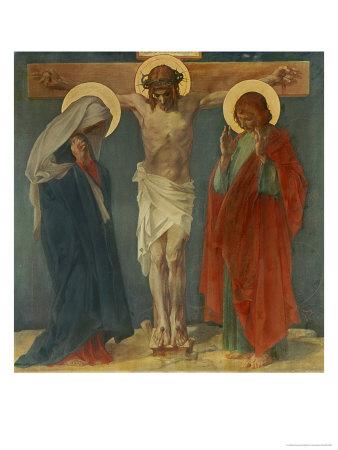 Jesus Dies on the Cross Giclee Print by Martin Feuerstein