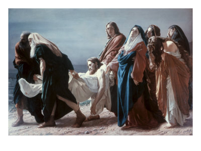 The Deposition of Christ Giclee Print by Antonio Ciseri
