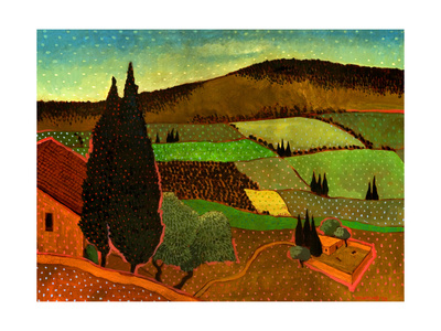 South of Fez, Morocco Giclee Print by John Newcomb