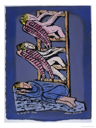 Jacob's Dream Giclee Print by Leslie Xuereb
