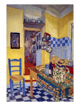 Provence Kitchen Lámina giclée
