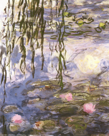 Waterlilies Posters by Claude Monet