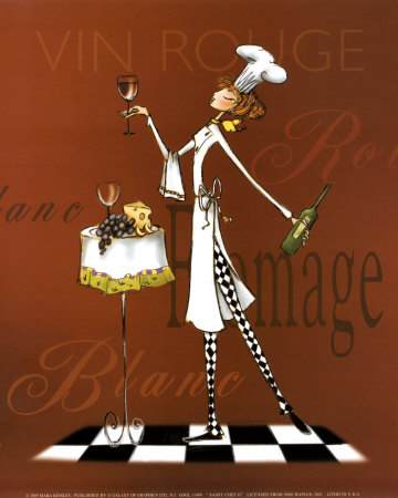 Sassy Chef II Posters by Mara Kinsley