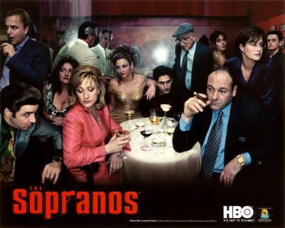 Framed Sopranos Poster 2011