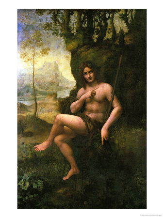 Bacchus, circa 1695 Premium Giclee Print by  Leonardo da Vinci