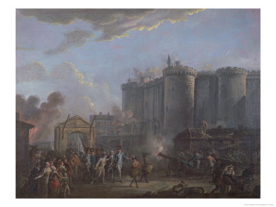 The Arrest of the Governor of the Bastille, 14th July 1789, 1790-95 Giclee Print by Jean-Baptiste Allemand