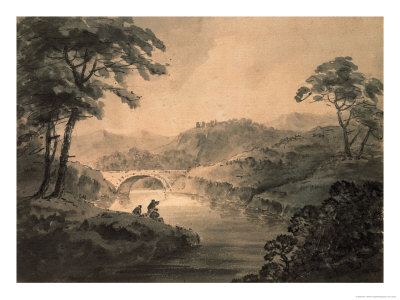 Landscape Giclee Print by Rev. William Gilpin