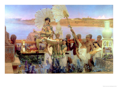 The Finding of Moses by Pharaoh's Daughter, 1904 Premium Giclee Print by Sir Lawrence Alma-Tadema