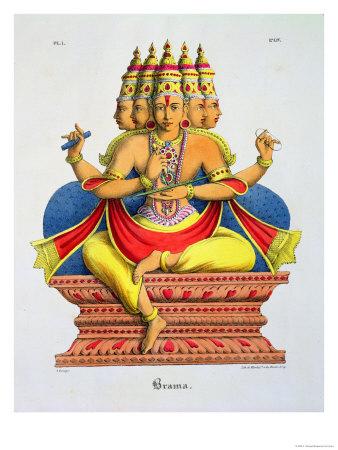 Brahma Premium Giclee Print by A. Geringer