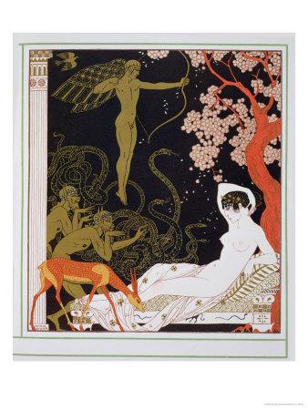 Venus Premium Giclee Print by Georges Barbier