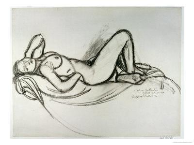 Reclining Nude, circa 1906 Giclee Print by Maxime Dethomas