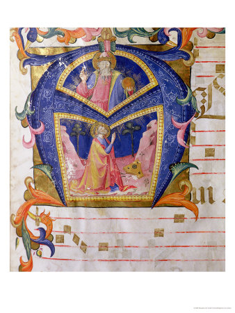 Corale / Graduale No. 5 Historiated Initial