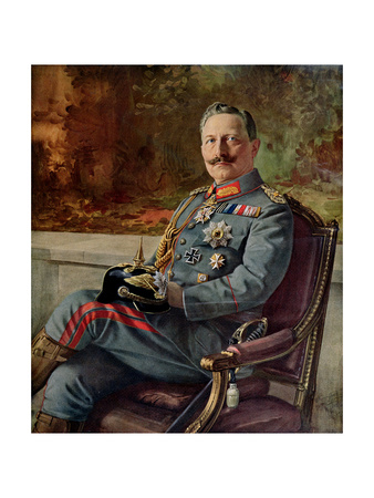Portrait of Kaiser Wilhelm II