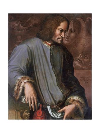 """Lorenzo De Medici """"The Magnificent"""" Premium Giclee Print by Giorgio Vasari"""