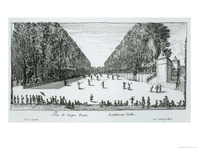 A Game of Longue Paume, 1655 Giclee Print
