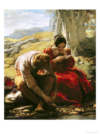 The Sonnet, 1839 Premium Giclee Print by William Mulready