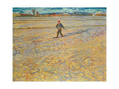 The Sower, c.1888 Premium Giclee Print by Vincent van Gogh