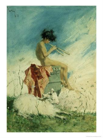 Idyll, 1868 Giclee Print by Mariano Fortuny y Marsal