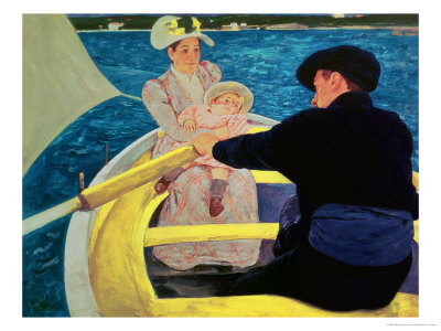 The Boating Party, 1893-94 Premium Giclee Print by Mary Cassatt