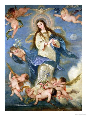 The Immaculate Conception Premium Giclee Print by Jose Antolinez