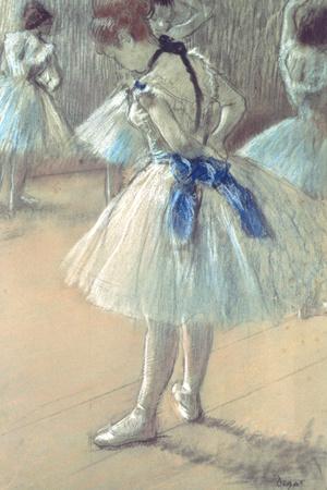 Dancer Premium Giclee Print by Edgar Degas