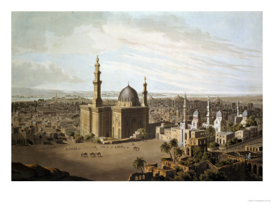 View of Grand Cairo Premium Giclee Print by Henry Salt