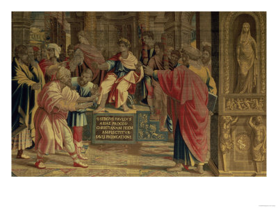 The Sorcerer Elymas Struck Blind by St. Paul Before the Roman ...