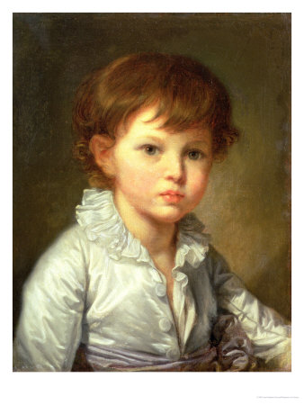 Portrait of Count Stroganov as a Child, 1778 Premium Giclee Print by Jean-Baptiste Greuze