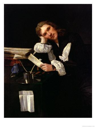 Self Portrait, 1656 Premium Giclee Print by Michael Sweerts