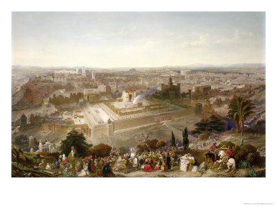 Jerusalem in Her Grandeur reproduction procédé giclée