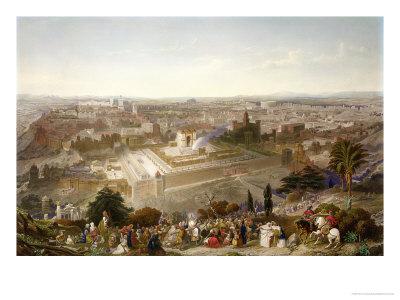 Jerusalem in Her Grandeur Premium Giclee Print by Henry Courtney Selous