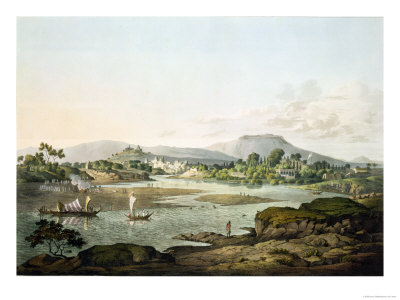 Poonah, Plate XIII Premium Giclee Print by Henry Salt