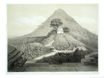 Picturesque View at the Temple of the Cross, Palenque, Plate 20 from