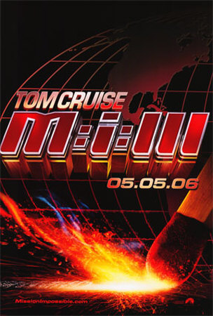 Mission Impossible 3 Affiche double face