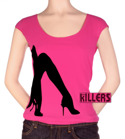 Juniors: The Killers - High Heels Shirts