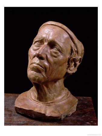 Portrait Bust of Girolamo Benivieni Giclee Print by Giovanni Bastianini