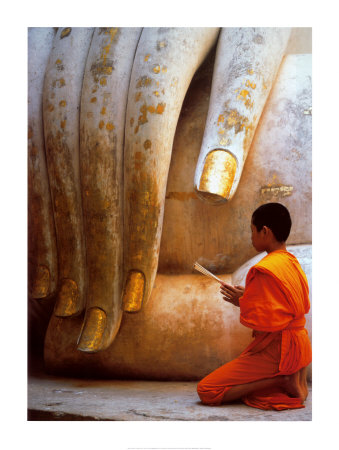 The Hand of Buddha Stampa artistica