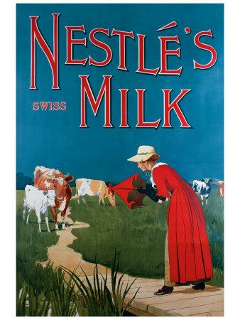Nestle's Milk Giclee Print